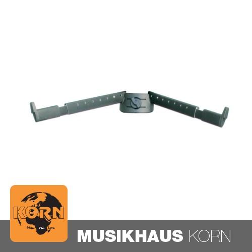 König & Meyer K&M 18866 Auflagearme-Set B schwarz