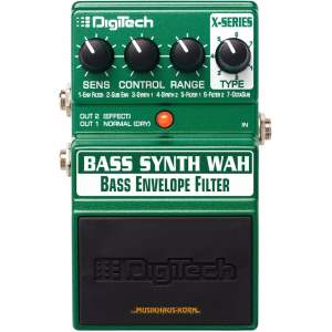Digitech X Bass Synth Wah Pedal