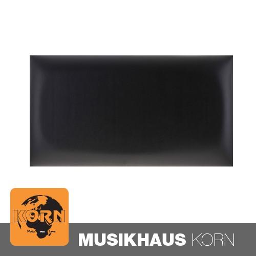 KORN Sitzpolster Klavierbank Vinyl Schwarz