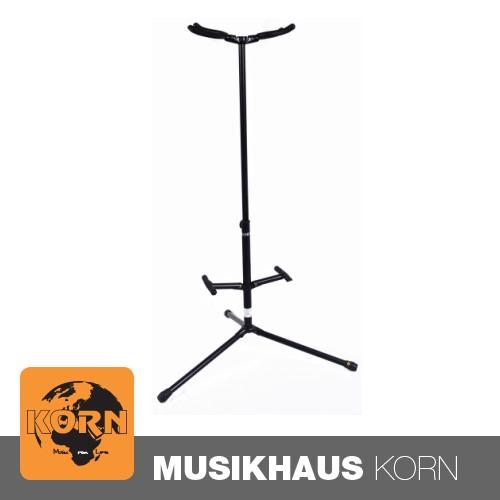 KORN Hänge-Gitarrenständer f. 2 Gitarren, schwarz