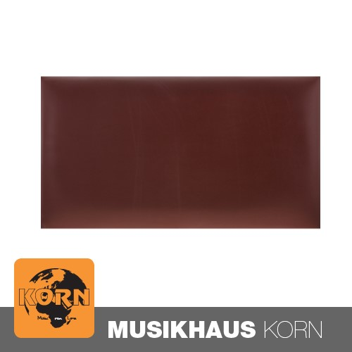 KORN Sitzpolster Klavierbank Vinyl Weinrot