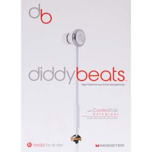 MONSTER Beats DIDDYBEATS CT WH