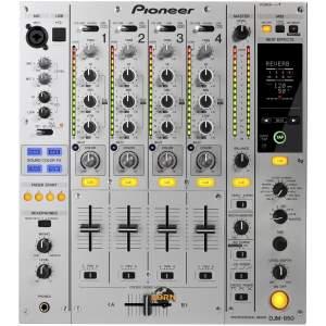 Pioneer DJM-850-S silber C-Ware