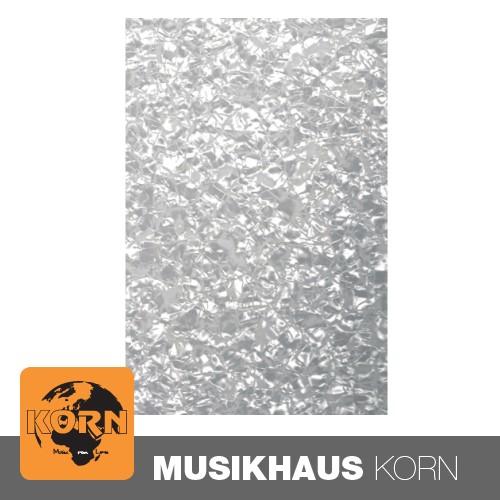 Gewa Kunststoffplatte Schlagbrett 3-lagig pearl white