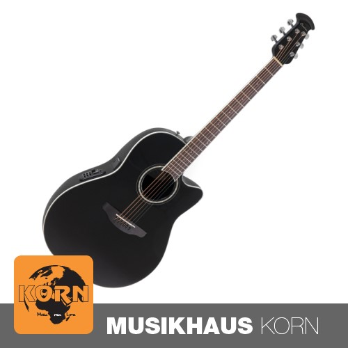 Ovation CS24-5 Celebrity Black Westerngitarre