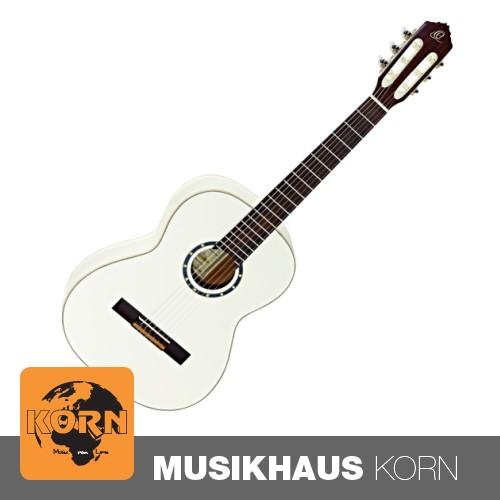 Ortega R121-7/8 White 7/8 Konzertgitarre