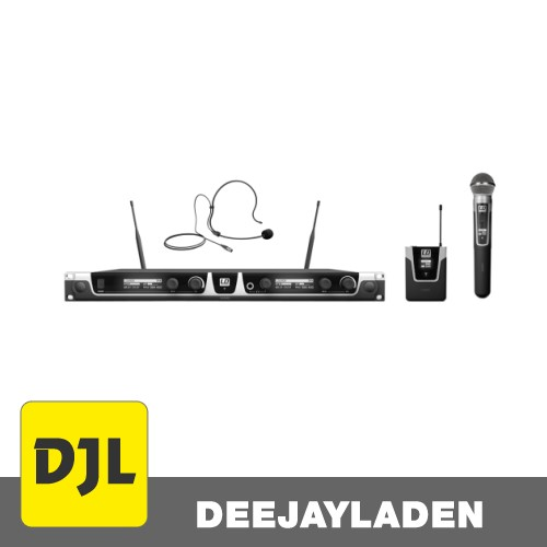 LD Systems U505 HBH 2 -1x Funkmikrofon und 1x Bodypack-Headset