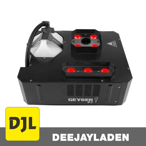 Chauvet DJ Geyser P7 Nebelmaschine mit vertikalem Ausstoß RGBA+UV LED