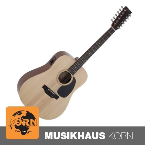 Sigma DM12E+ 12-Saitige Westerngitarre