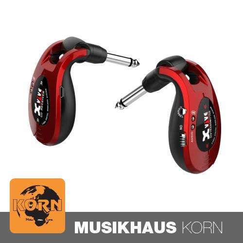 Diverse XVive U2 Guitar Wireless System, Red