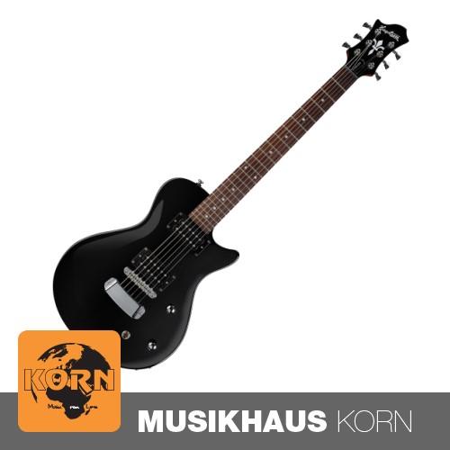 Hagstrom Ultra Swede ESN, Black Gloss E-Gitarre