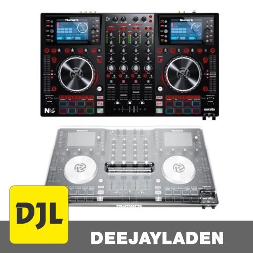 Numark NV II DJ Controller + Staubschutzcover