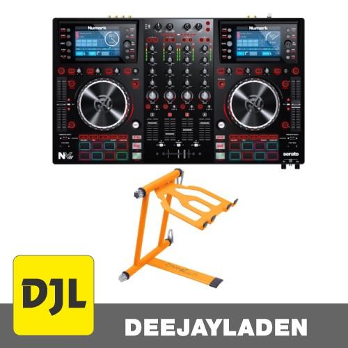 Numark NV II DJ Controller + Laptop Stand Set