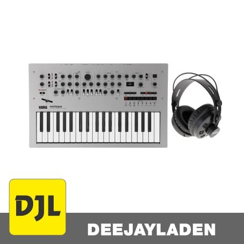 Korg minilogue Synthesizer + Kopfhörer Bundle