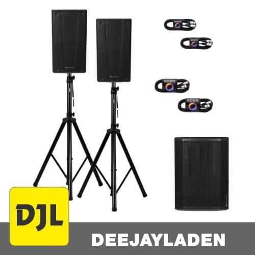 dB Technologies B-Hype 10 + SUB 615 + Kabel + Stativ SET