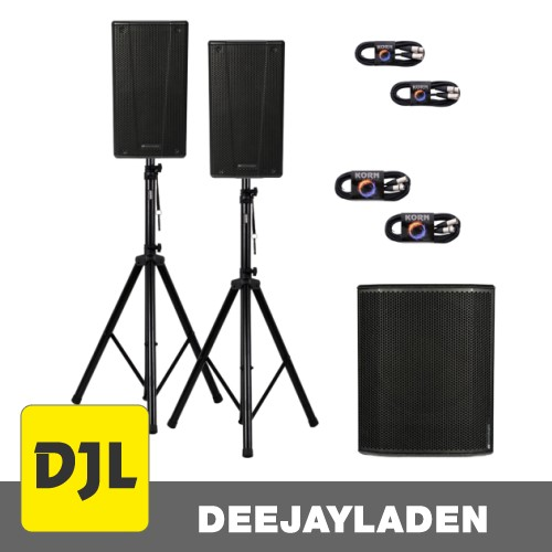 dB Technologies B-Hype 10 + SUB 618 + Kabel + Stativ SET