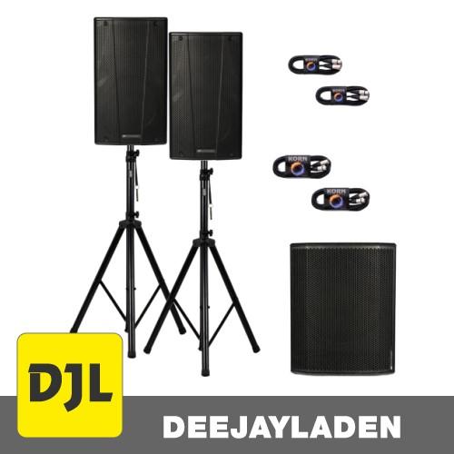dB Technologies B-Hype 15 + SUB 618 + Kabel + Stativ SET
