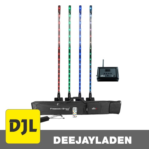 Chauvet DJ Freedom Stick Pack + D-Fi Hub Wireless DMX