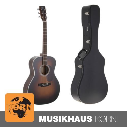 Sigma MR-1STE-SB Westerngitarre + Gitarrenkoffer