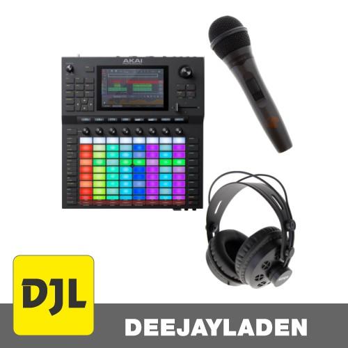 Akai Professional Force + Kopfhörer + Mikrofon Set