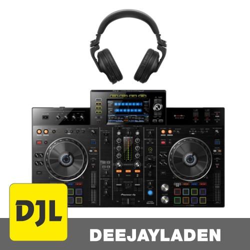 Pioneer XDJ-RX2 DJ Controller + HDJ-X5BT-K Schwarz