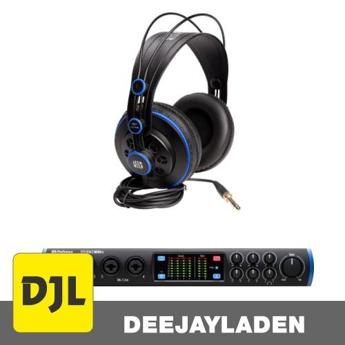 PreSonus Studio 1810c + HD7 Monitorkopfhörer