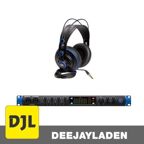 PreSonus Studio 1824c + HD7 Monitorkopfhörer