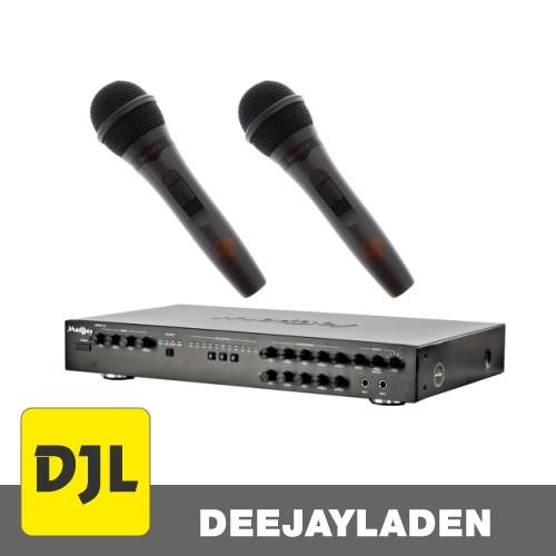 Madboy REMIX-33 Karaoke-Mixer + 2x Karaoke Mikrofon SET