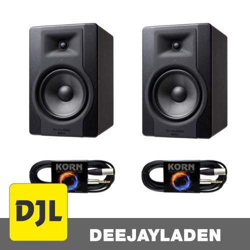 M-Audio BX 8 D3 Plug & Play XLR/Klinke Kabel Set