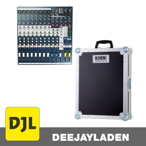 Soundcraft EFX8 + Hardcase mit Kabelfach