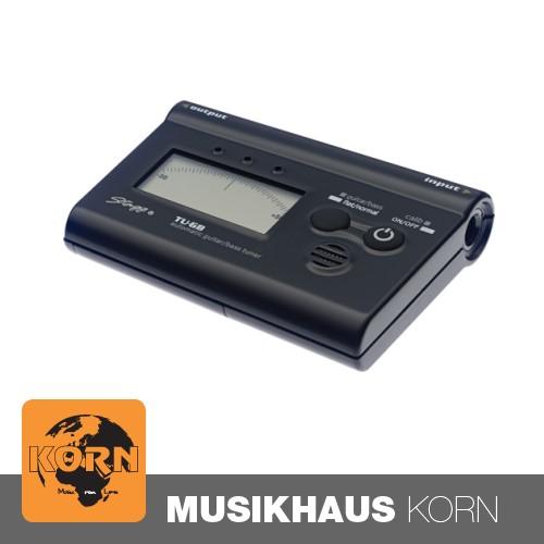 STAGG TU-GB BKH Tuner Stimmgerät black